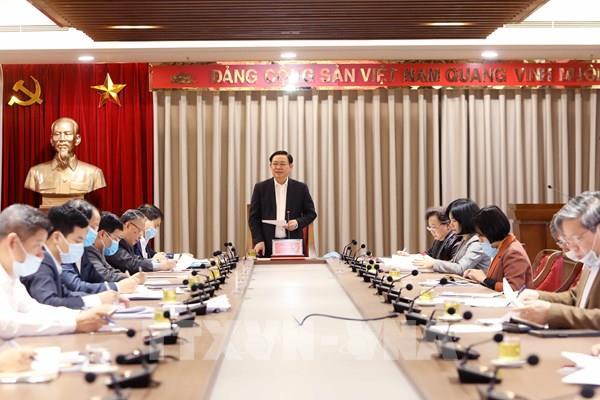 """Bí thư Thành ủy Hà Nội: Thu ngân sách phải bảo đảm 2 """"mục tiêu kép"""""""