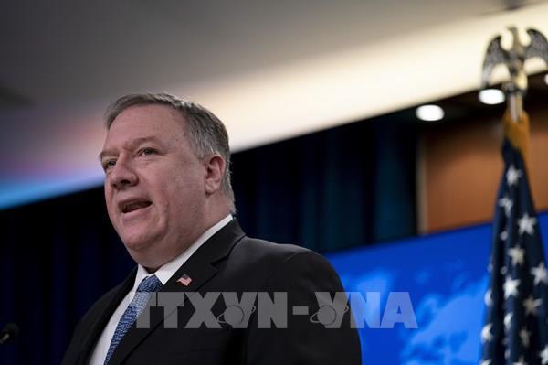 Mỹ lên án các hành động của Trung Quốc ở Biển Đông