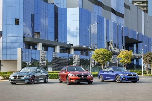 BMW Series 3 về Việt Nam với 3 phiên bản có giá cao hơn đối thủ