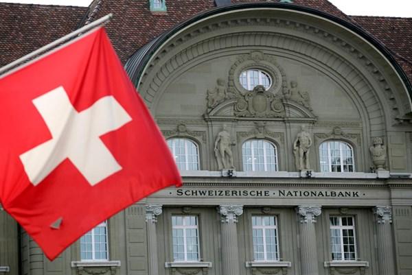 Ngân hàng Quốc gia Thụy Sỹ chịu tổn thất nặng nề trong quý I