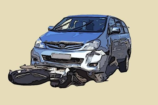 Tai nạn tại Tam Đảo: 1 ô tô con và xe máy lao xuống vực sâu 200m