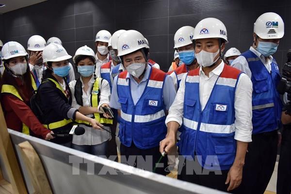Nỗ lực sớm đưa đoàn tàu metro Bến Thành – Suối Tiên về Việt Nam