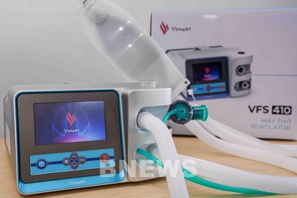 Vingroup sắp tung ra thị trường 2 mẫu máy thở phục vụ điều trị COVID-19