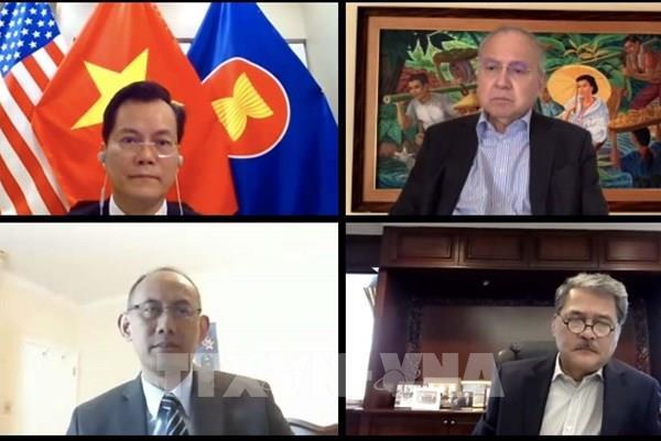 Việt Nam tham gia cuộc họp trực tuyến của Ủy ban ASEAN tại Mỹ