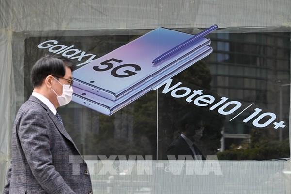 Samsung là hãng bán điện thoại thông minh 5G lớn nhất thế giới trong quý I