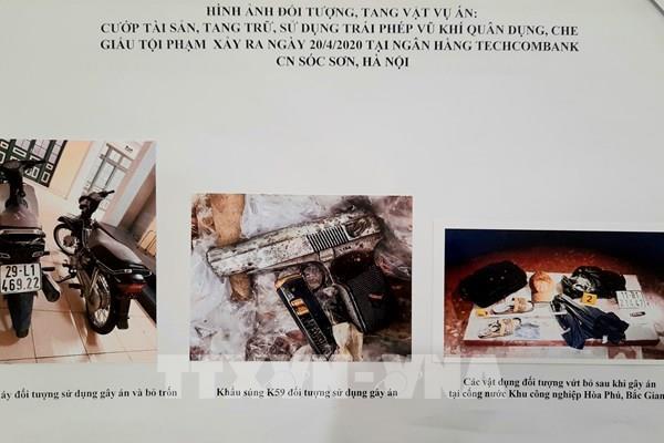 Công an Hà Nội thông tin chi tiết về vụ cướp ngân hàng tại huyện Sóc Sơn