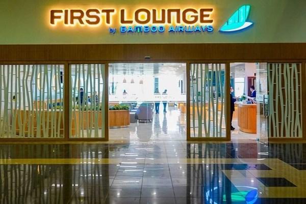 Phòng chờ Thương gia First Lounge của Bamboo Airways tại Nội Bài mở cửa trở lại