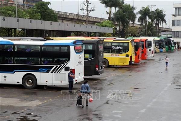 Hà Nội: Các nhà xe tăng chuyến phục vụ dịp lễ Quốc khánh 2/9