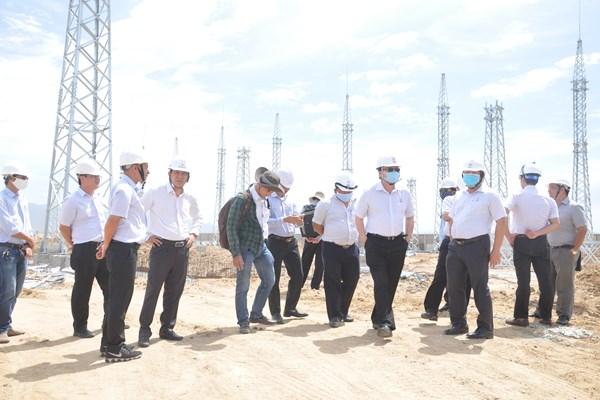 Dự án TBA 220 kV Ninh Phước và đấu nối sẽ đóng điện giai đoạn 1 trong tháng 6 tới