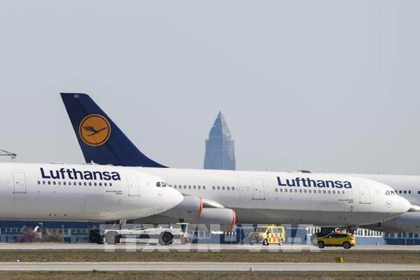 Đức thông qua gói cứu trợ 9 tỷ euro cho hãng hàng không Lufthansa