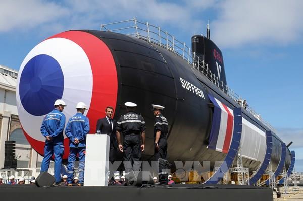 Pháp: Tàu ngầm hạt nhân Suffren mới lần đầu ra khơi