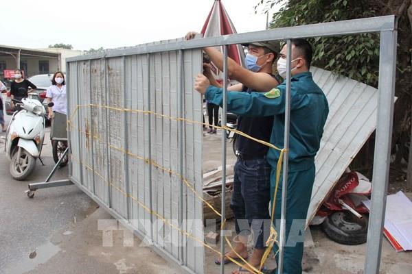 Hưng Yên gỡ bỏ lệnh phong tỏa thôn Chí Trung