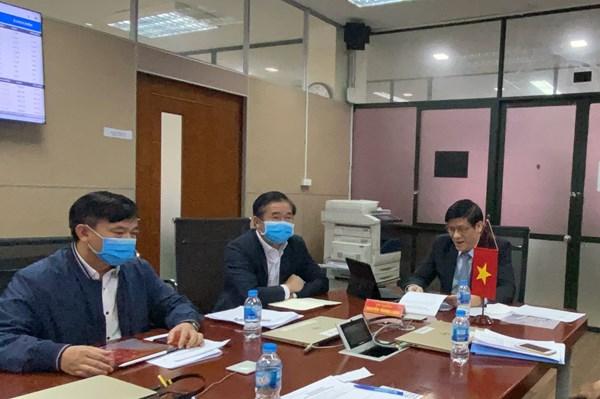 ASEAN 2020: Hội nghị trực tuyến Bộ trưởng Bộ Y tế các nước ASEAN với Hoa Kỳ