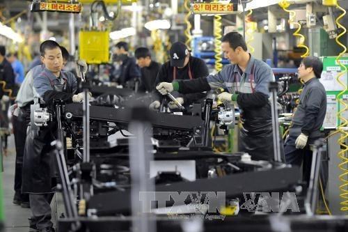 Xuất khẩu của Hàn Quốc giảm mạnh