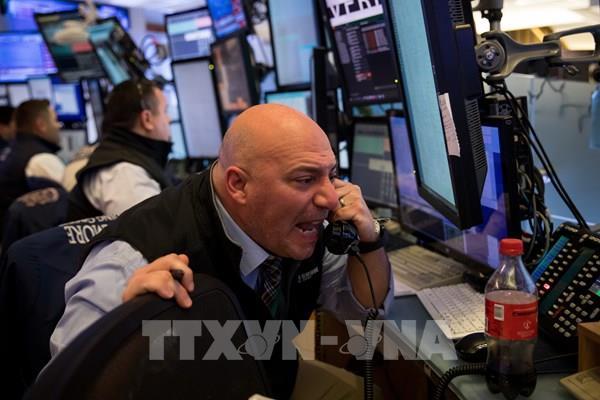 Thị trường chứng khoán Phố Wall khép tuần trong sắc đỏ