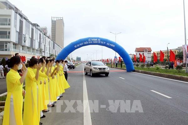 Thông xe dự án phát triển giao thông đô thị thành phố Hải Phòng