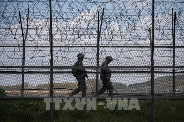 Nổ súng tại Khu phi quân sự liên Triều