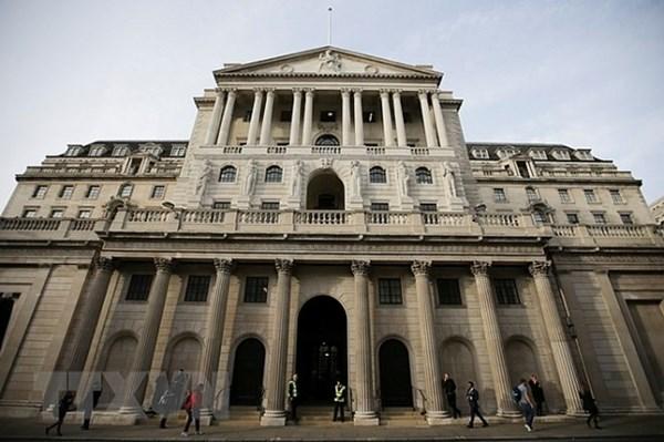 Ngân hàng trung ương Anh giữ nguyên lãi suất trước nguy cơ kinh tế bất ổn