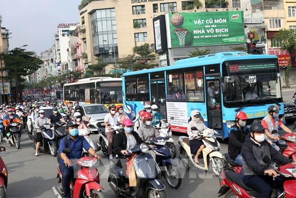 Xe buýt Hà Nội hoạt động trở lại với 100% công suất