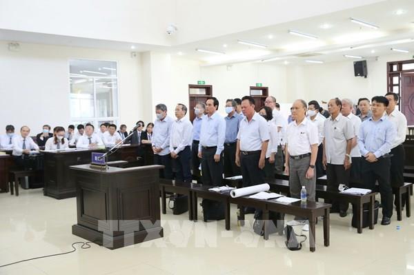 Phúc thẩm vụ án 2 nguyên lãnh đạo TP Đà Nẵng: Các bị cáo không thay đổi nội dung kháng cáo