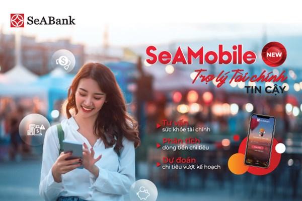 """SeABank ra mắt """"Trợ lý tài chính tin cậy"""" trên ứng dụng ngân hàng số"""