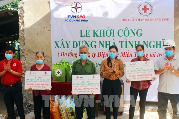 Quảng Bình: Khởi công xây dựng nhà tình nghĩa