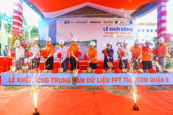 FPT Telecom khởi công xây dựng trung tâm dữ liệu lớn nhất Việt Nam