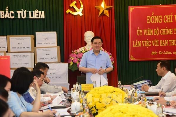 Bí thư Thành ủy Hà Nội: Xây dựng quận Bắc Từ Liêm là nơi đáng sống bậc nhất Thủ đô
