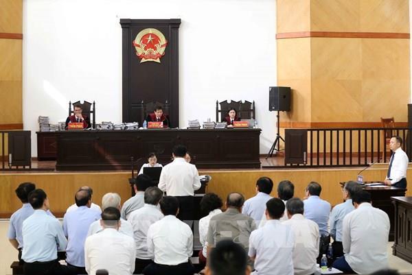 Tiếp tục phiên xét xử phúc thẩm vụ 2 nguyên lãnh đạo thành phố Đà Nẵng
