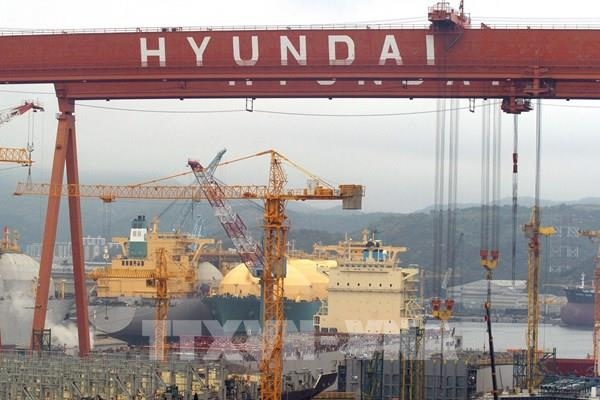 Hàn Quốc đứng sau Trung Quốc về đơn hàng đóng tàu