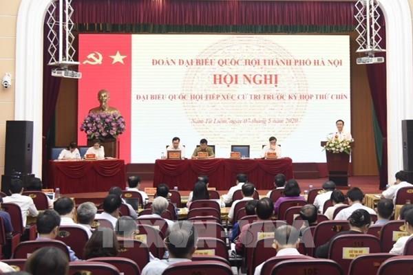 Chủ tịch UBND quận Nam Từ Liêm kiến nghị điều chỉnh khu vực quy hoạch không còn phù hợp