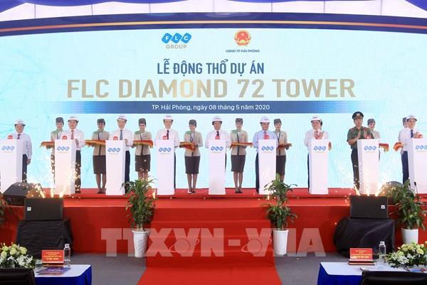 Động thổ Dự án FLC Diamond 72 Tower - một trong 3 tòa tháp cao nhất Việt Nam