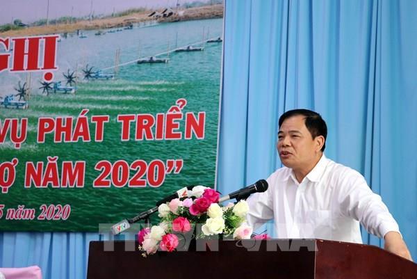 Bộ trưởng Nguyễn Xuân Cường: Ngành tôm có niềm tin xuất khẩu trên 3,5 tỷ USD