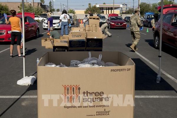 """Các sòng bài ở Las Vegas trở thành """"ngân hàng thực phẩm"""" cho lao động thất nghiệp"""