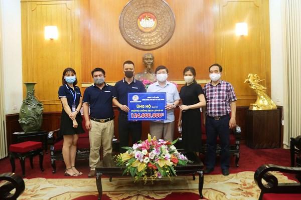EFY Việt Nam ủng hộ 124 triệu đồng chống dịch Covid-19