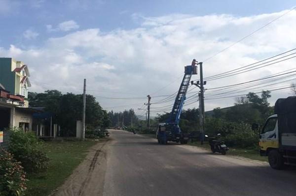 Lịch ngừng cung cấp điện Bình Định hôm nay 26/8