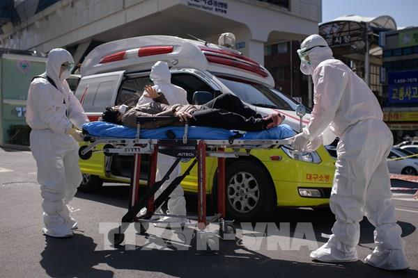 Hàn Quốc ghi nhận số ca COVID-19 tăng đột biến trở lại từ ổ dịch Itaewon