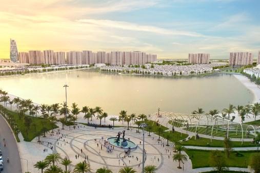 """Lần đầu mở bán tòa tháp căn hộ """"Trái tim"""" Vinhomes Ocean Park"""