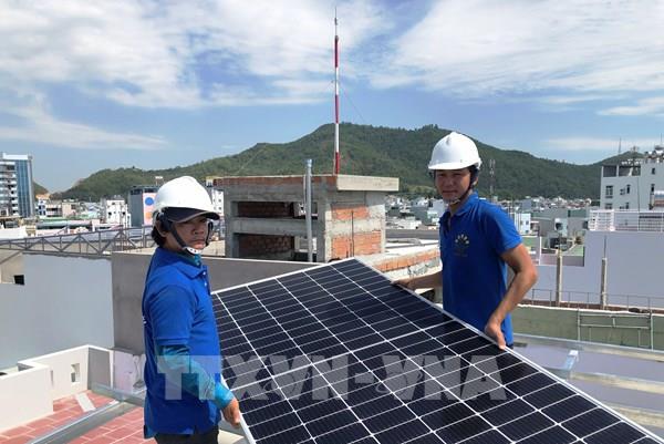 Điện lực Bình Định đủ khả năng giải tỏa hơn 700 MWp điện mặt trời mái nhà