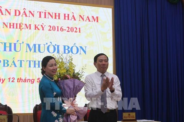 Bầu bổ sung Phó Chủ tịch UBND tỉnh Hà Nam