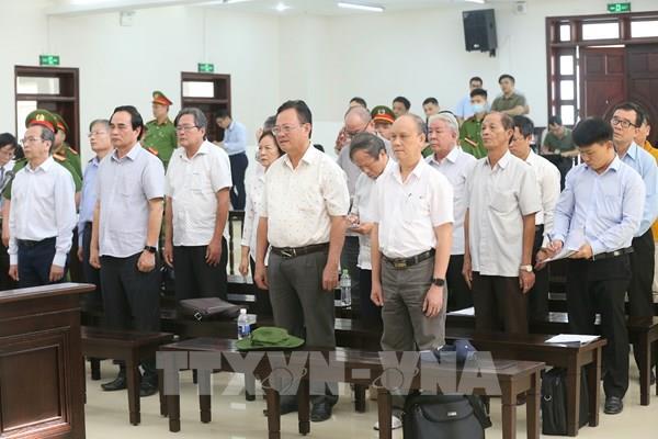 Phiên tòa phúc thẩm vụ án 2 nguyên lãnh đạo Đà Nẵng: Y án sơ thẩm với bị cáo Trần Văn Minh