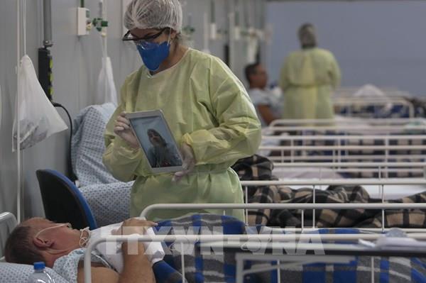 Brazil ghi nhận số ca tử vong do dịch COVID-19 cao kỷ lục trong 24 giờ
