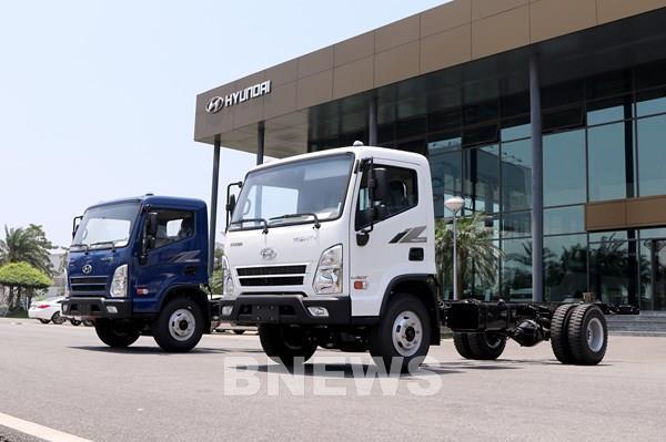 TC MOTOR ra mắt xe tải trung Mighty EX8 GT, giá bán từ 695 triệu đồng