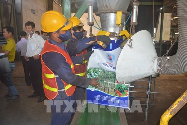 Thêm nhà máy sản xuất phân hữu cơ sinh học từ rác thải sinh hoạt đi vào hoạt động