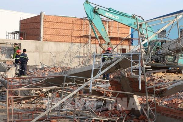 Chỉ đạo khẩn về vụ tai nạn sập công trình xây dựng ở Đồng Nai