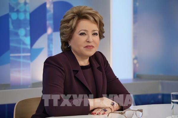 Chủ tịch Thượng viện Nga cảm ơn Việt Nam hỗ trợ y tế chống dịch COVID-19