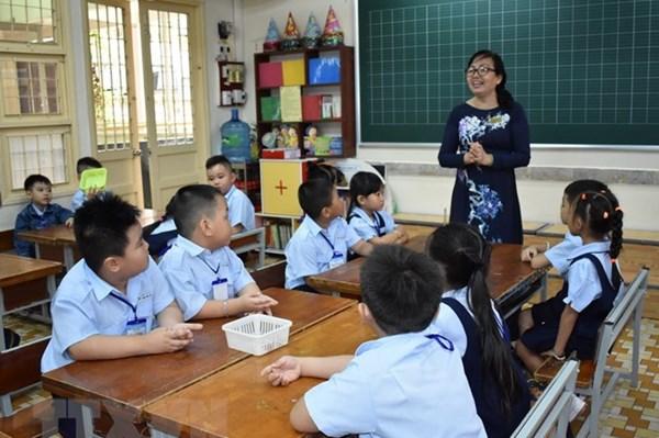 Tp. Hồ Chí Minh huy động 100% trẻ 6 tuổi vào học lớp 1 theo tuyến