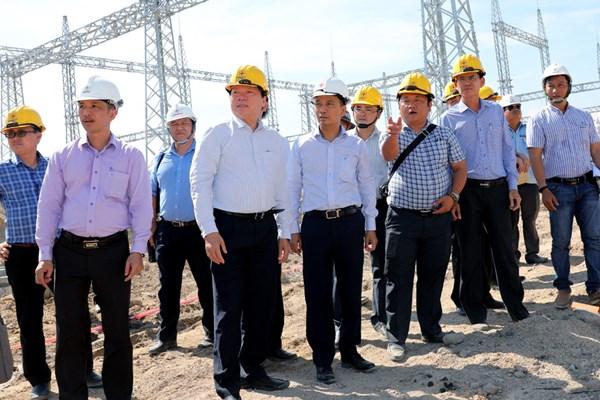 Yêu cầu đóng điện giai đoạn 1 TBA 220kV Ninh Phước và đấu nối đúng tiến độ