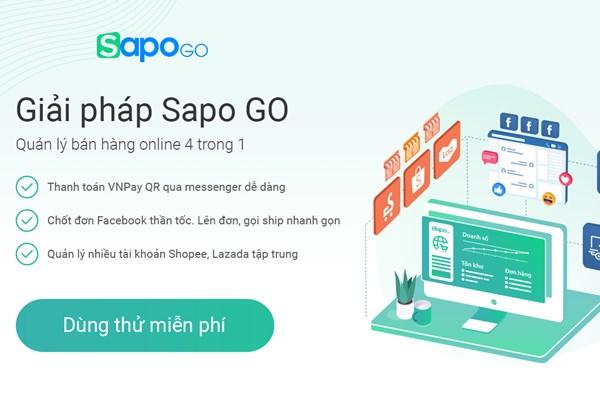 Sapo Go – Giải pháp hỗ trợ bán hàng đa kênh online