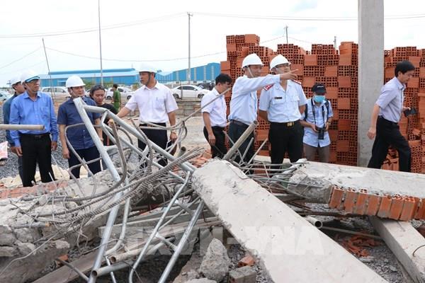 Sập công trình KCN Giang Điền, Đồng Nai: Làm rõ trách nhiệm tổ chức, cá nhân liên quan